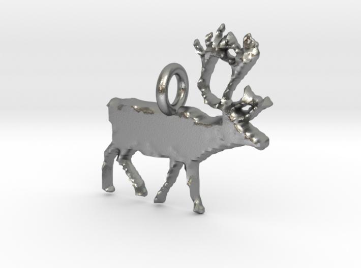 Reindeer Pendant 3d printed