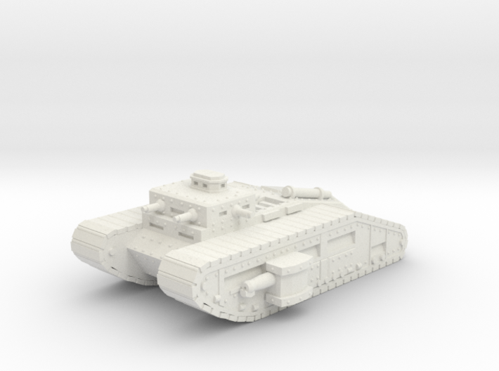 Infantry Flame Tank 15mm 3d printed