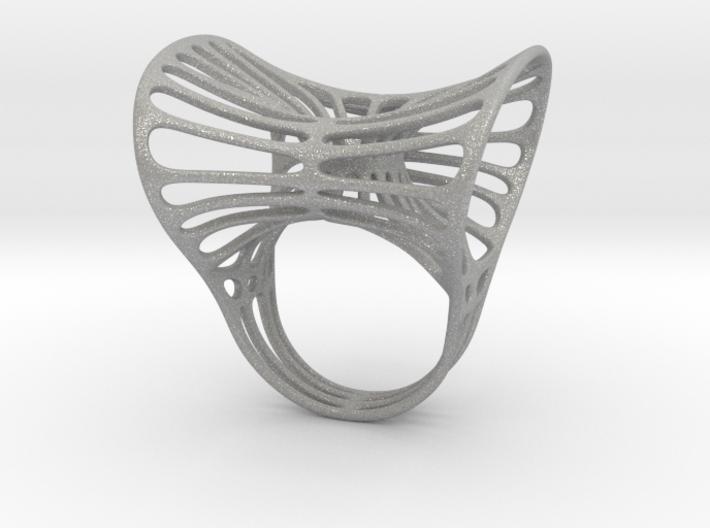 Ring torocentrato leggero 3d printed
