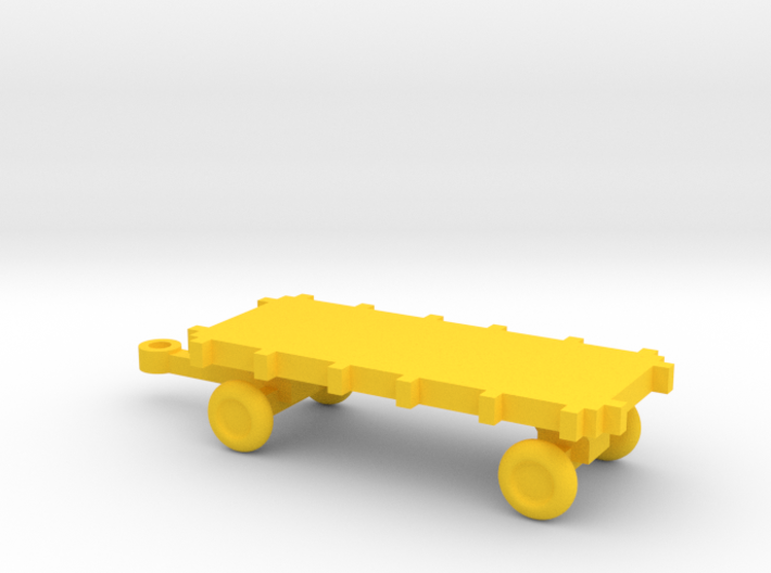 1/72 Scale Bomb Cart 3d printed