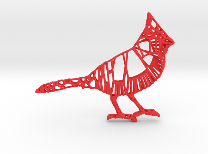 3D Printed Cardinal 3d printed