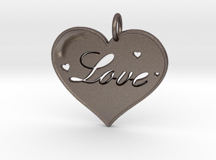 i 4 Love Pendant 3d printed