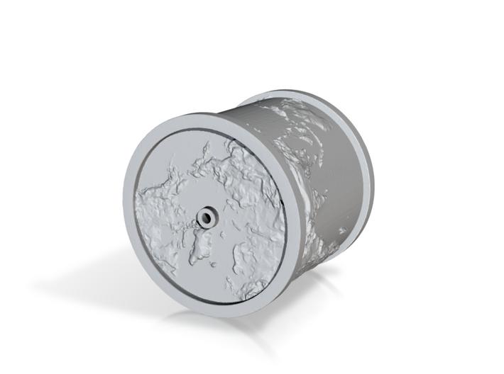 Globe Cylinder 3d printed