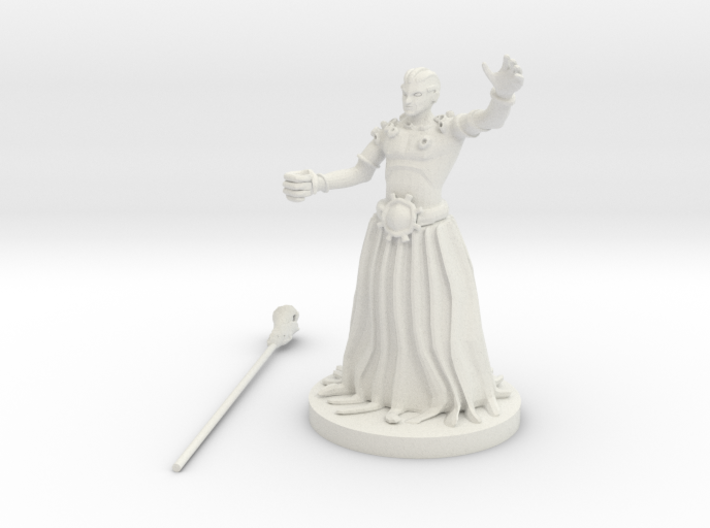 Crushing Wave Priest 3d printed