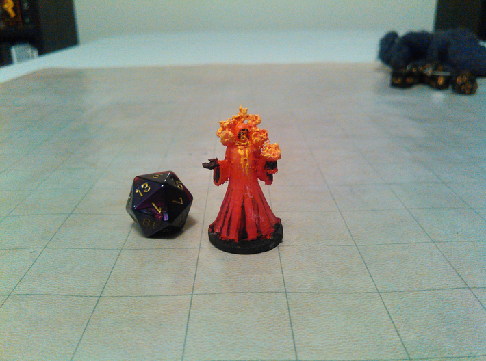 Eternal Flame Priest 3d printed