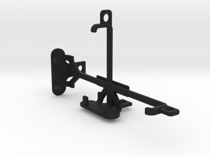 BLU Dash 4.0 tripod & stabilizer mount 3d printed
