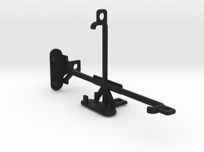 BLU Dash X tripod & stabilizer mount 3d printed