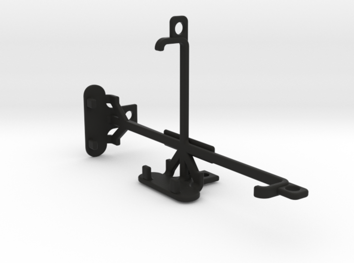 BLU Diamond M tripod & stabilizer mount 3d printed