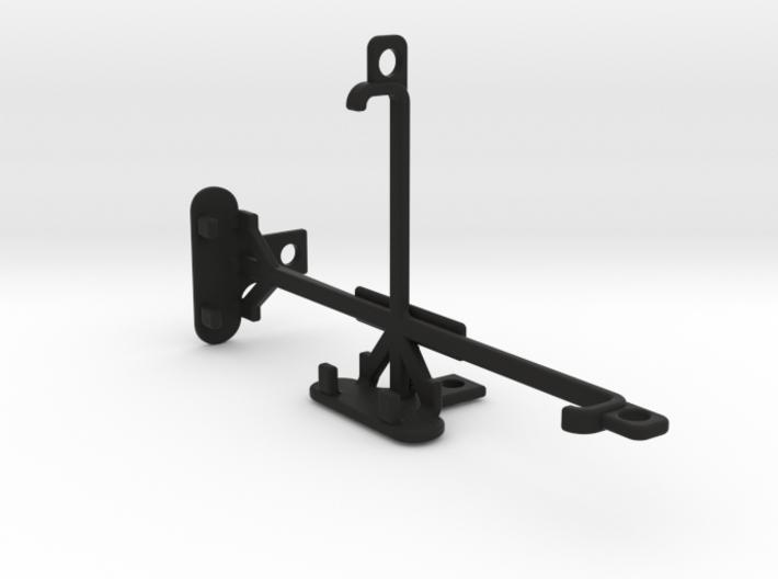 Huawei Y5II tripod & stabilizer mount 3d printed