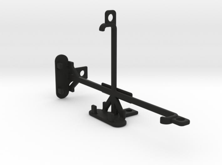 LG K10 tripod & stabilizer mount 3d printed