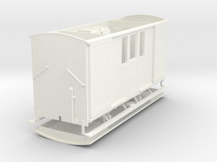 008 ZE LD 1-3 post/bagagewagen 3d printed