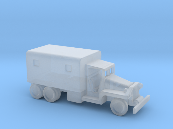 1/144 Scale CCKW Box Truck 3d printed