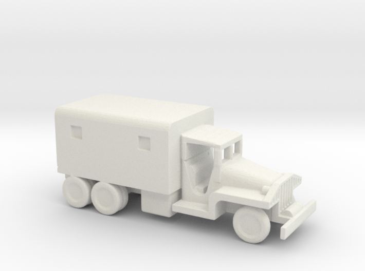 1/200 Scale CCKW Box Truck 3d printed