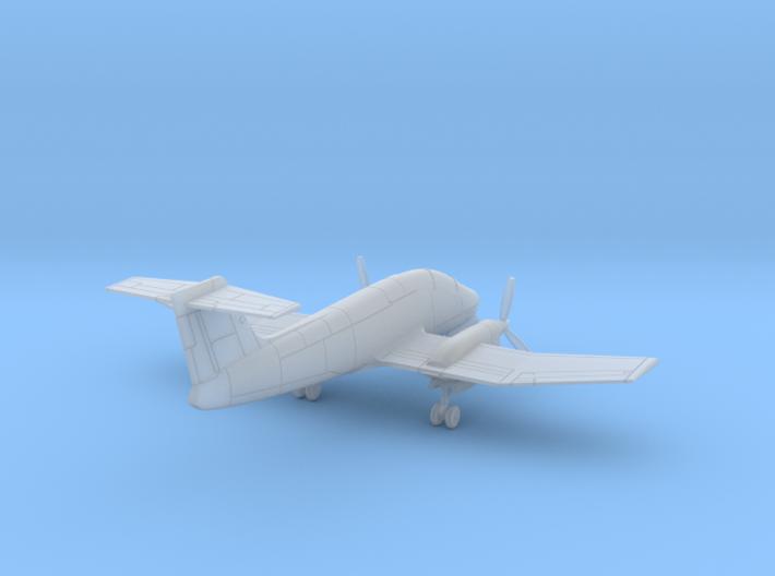 009D IA-58 Pucara 1/200 3d printed