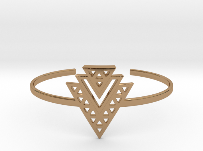 Tiered Cuff 3d printed
