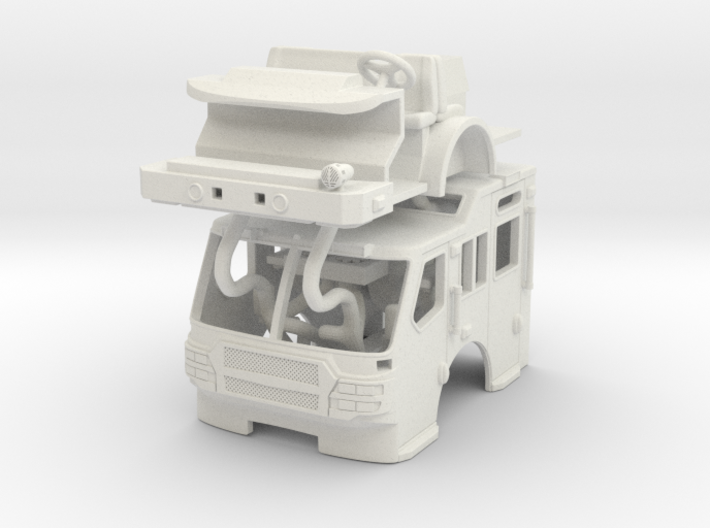 1/87 E-One Quest Raised Roof 3d printed