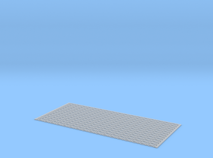 Arch. Fascia (Barge) Boards - Bead & Real Pattern 3d printed