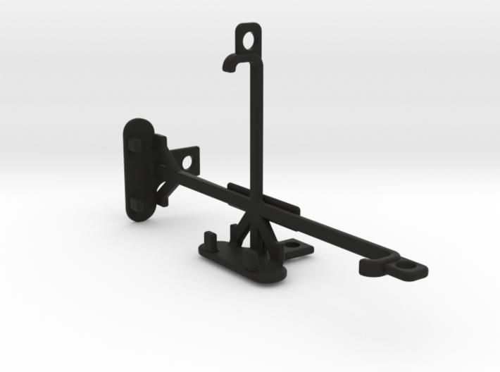 Xiaomi Redmi 3s tripod & stabilizer mount 3d printed