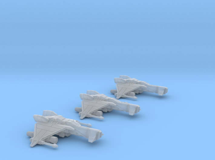 3-Pack Vaksai Fighter Variant 2AB 1/270 3d printed