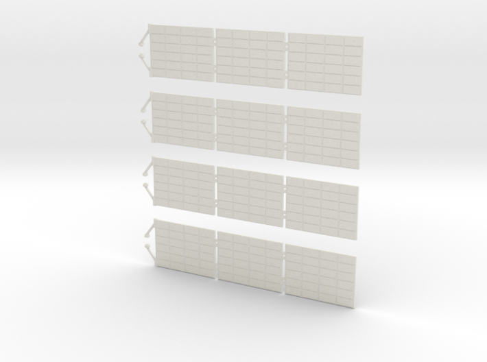 Orion SM Solar Panels 1:32 3d printed