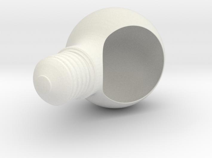 Plantpot 3d printed White Light Plant - Pot