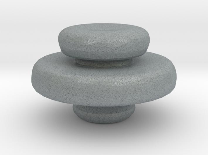 Mini Apothecary Pot Lid 3d printed