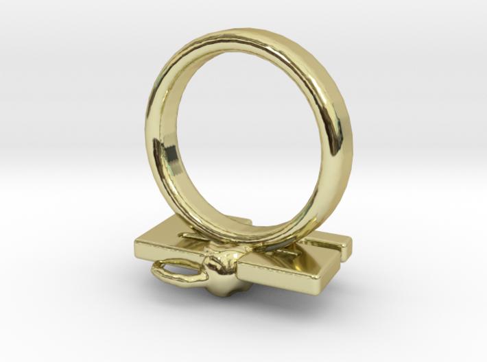 Die Antwoord 23 rat Ring Size 5.5 3d printed