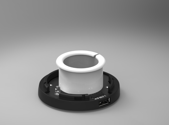 Bottom Of The SmartDock  for AppleWatch 3d printed