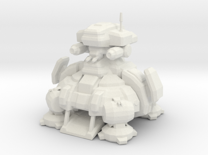 1/700 Terran Planetary Fortress 3d printed