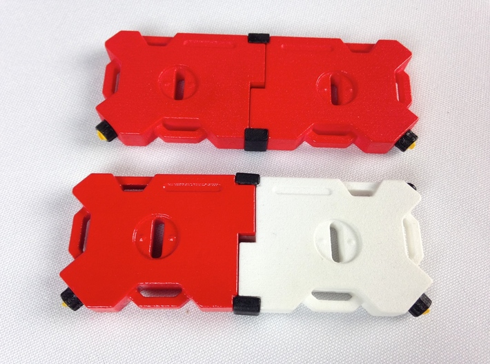 AJ10011 RotopaX 2 Gallon Fuel Pack - WHITE 3d printed PLEASE NOTE: Parts shown painted (other fuel packs sold separately)