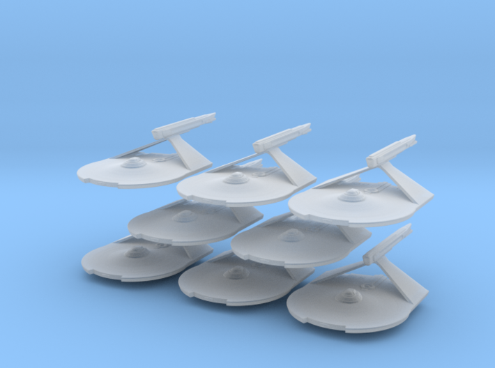 1/7000 Destroyer Larson v2 - 08 ships pack 3d printed