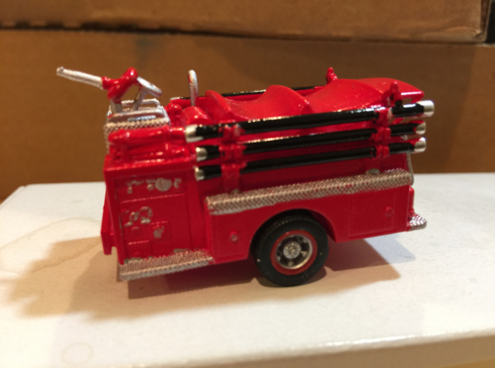 Mack Pumper Body 1:64 3d printed Painted by srnjm420
