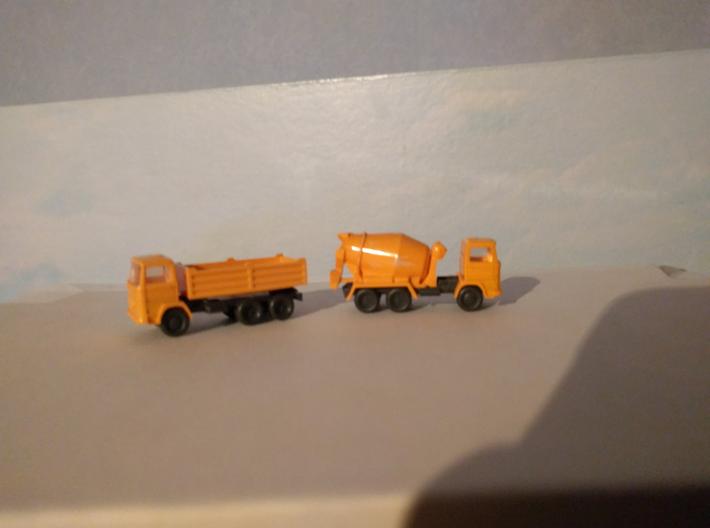 Opbouw vuilniswagen NL voor N spoor  3d printed