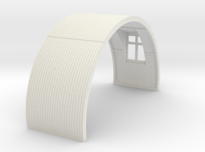 N-76-complete-nissen-hut-mid-16-window-1a 3d printed