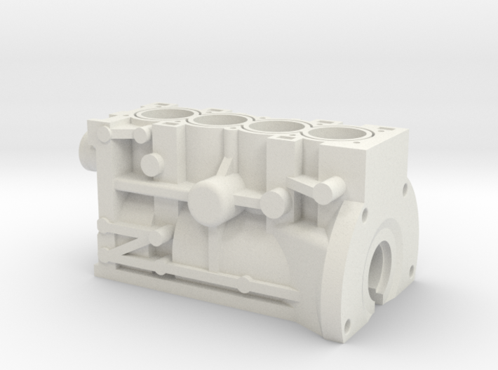 ScaledEngines_B18C-Block 3d printed