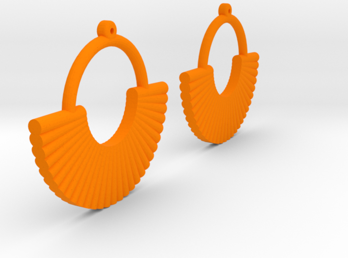 Earring Model M Pair 3d printed