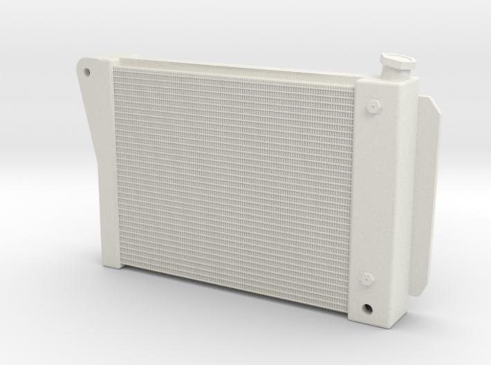 Radiator 3 inch 1/18 3d printed