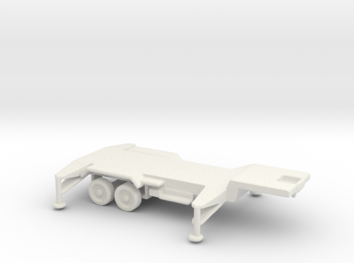 1/110 Scale Patriot Missile Trailer 3d printed