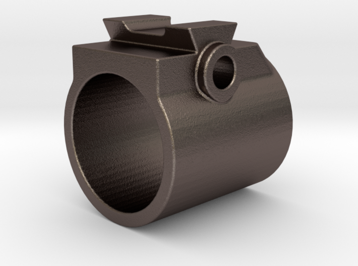 """.565"""" ID M14 Style Front Sight 3d printed"""
