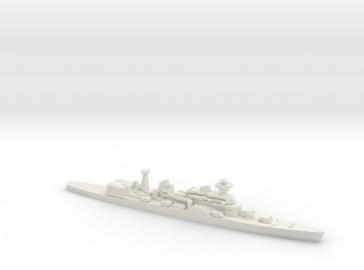Cruiser Admiral Senyavin (1971), 1/1800 3d printed
