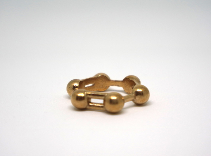 Benzene Ring Molecule 3d printed Benzene ring molecule
