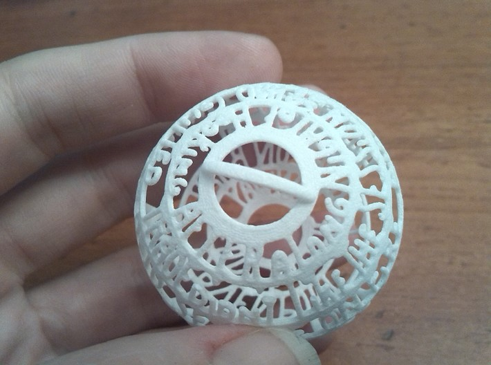 Kennedy Quotaball 3d printed