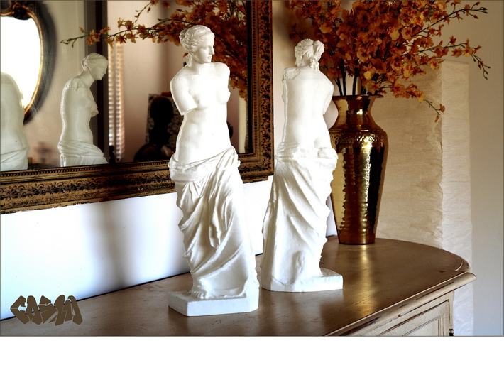 "Venus de Milo (19.4"" tall) 3d printed Venus de Milo (19.4"" version shown)"