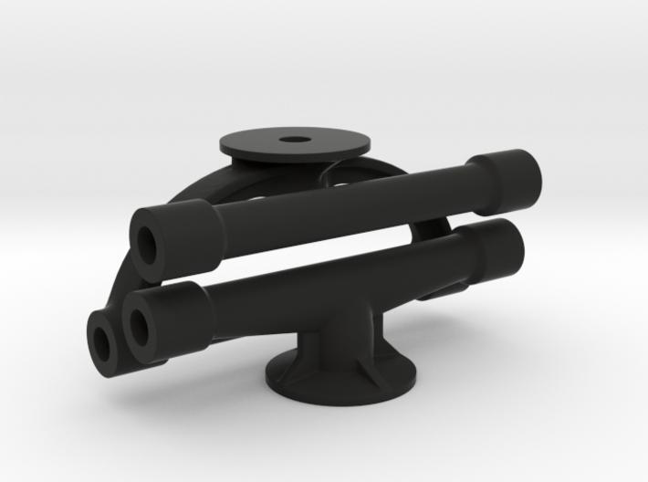 Margouillat   3 tubes de renfort 3d printed