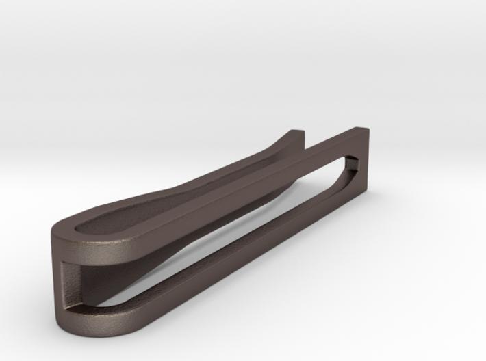 Minimalist Tie Bar - Wedge (1.5 In) 3d printed