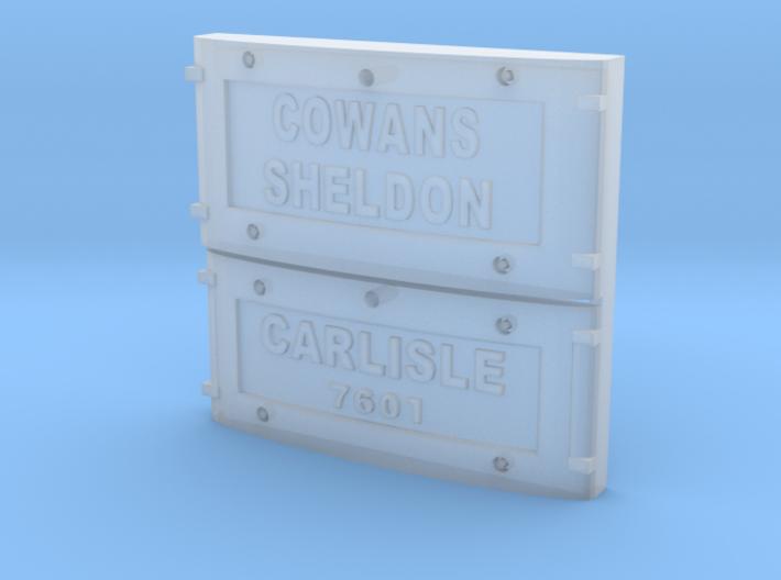 Cowans Balance Weight 3d printed