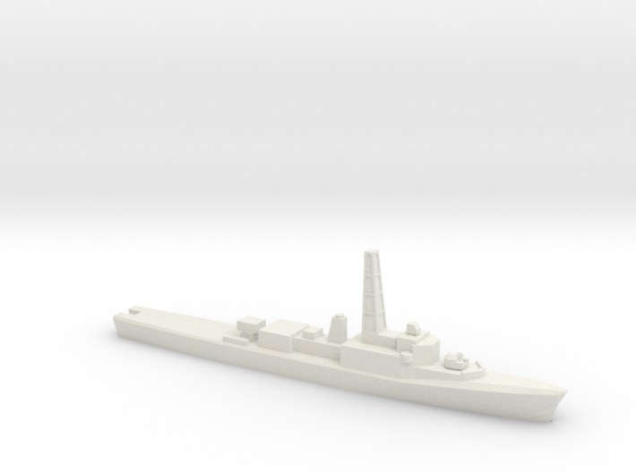 Restigouche-class DDE (DELEX), 1/1800 3d printed