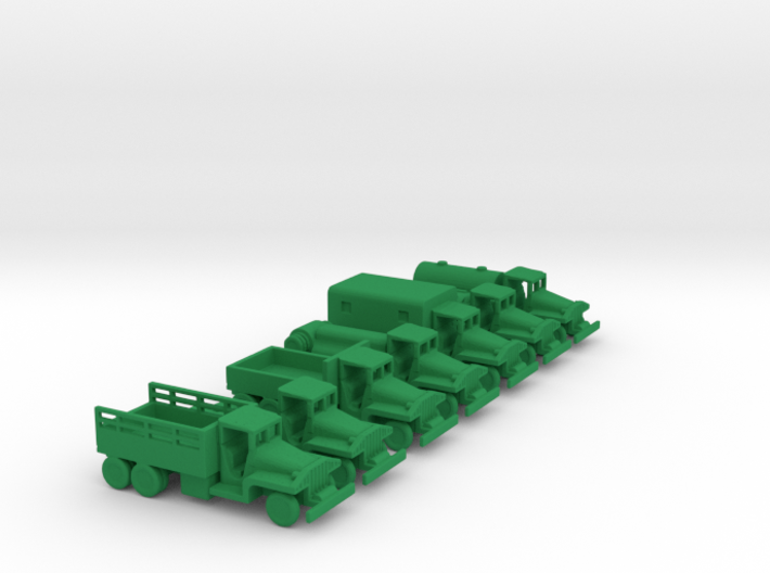 1/200 Scale CCKW Truck Set 3d printed