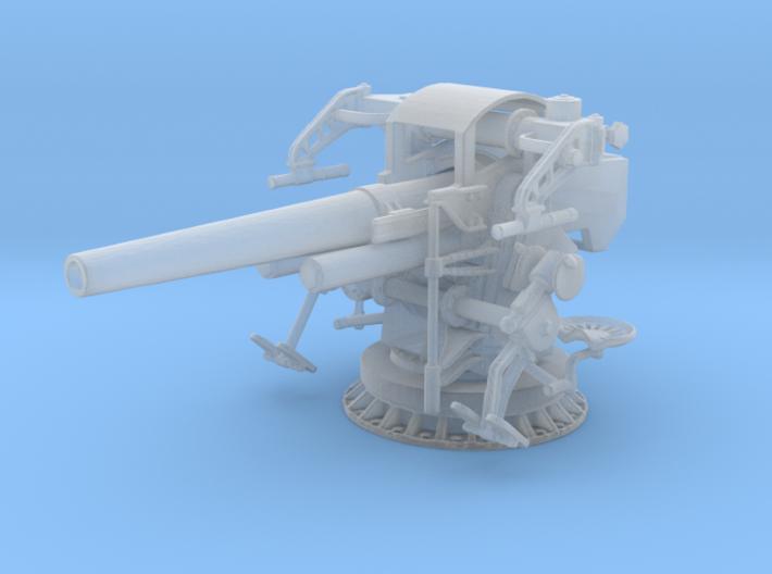 1/96 US Navy 5 inch 25 Cal. Gun Mount Mark 40 3d printed