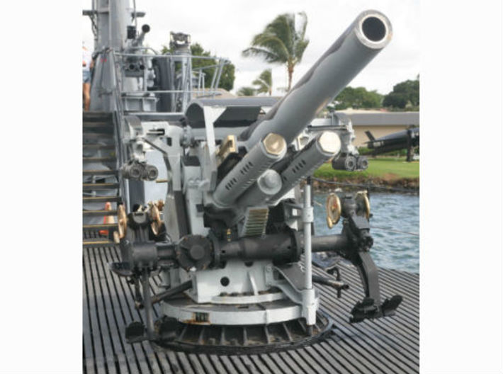 1/72 USN 5 inch 25 Cal. GUN MOUNT MARK 40 3d printed